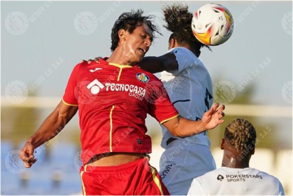 José Juan Macías disputa su segundo partido con el Getafe