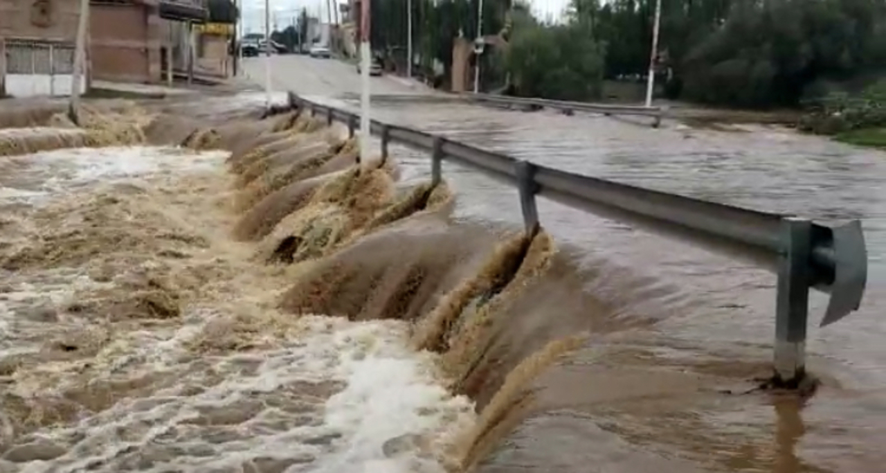 Activan protocolo por lluvia intensa