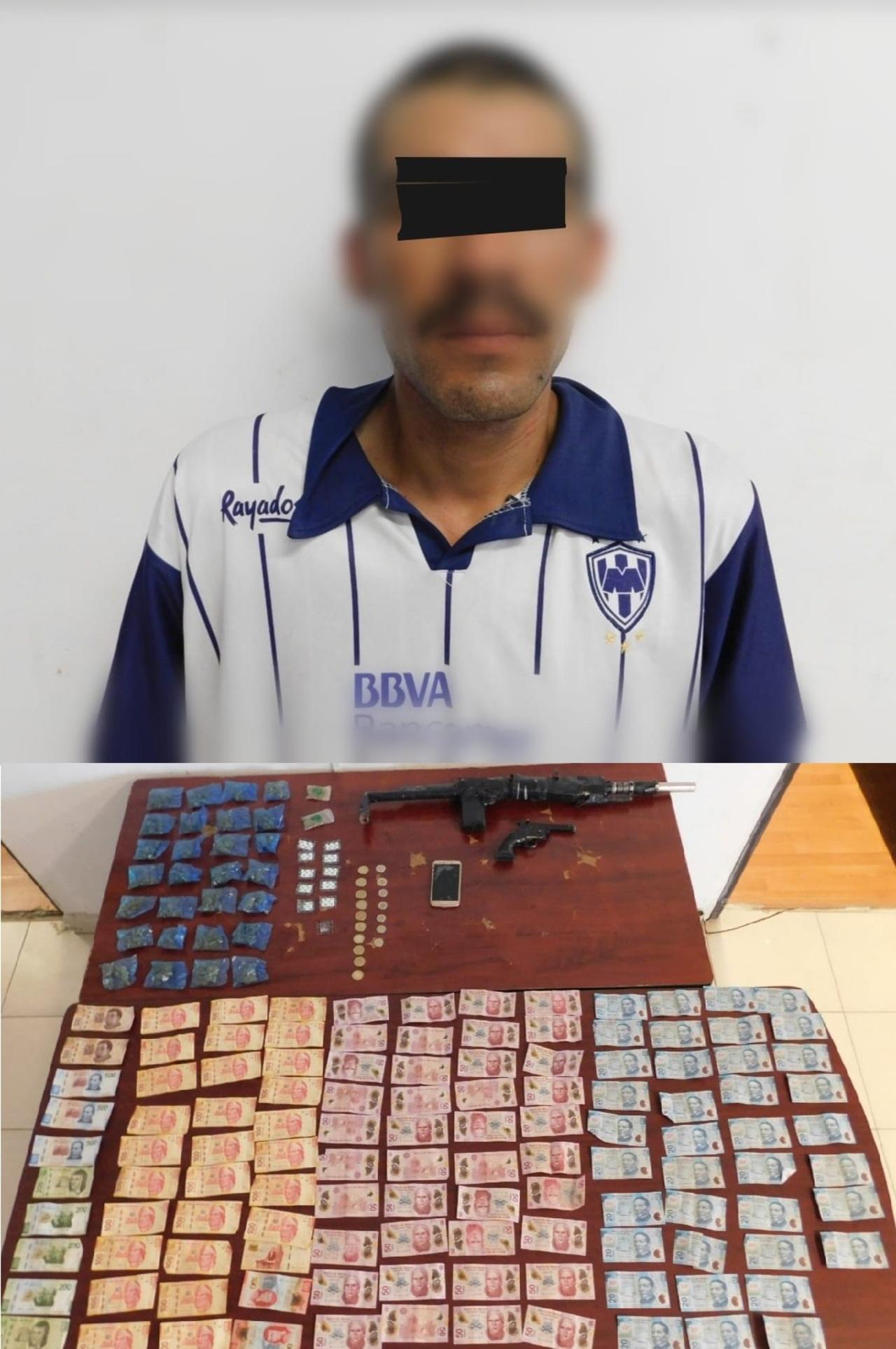 Detienen a un 'puchador' armado en Gómez Palacio