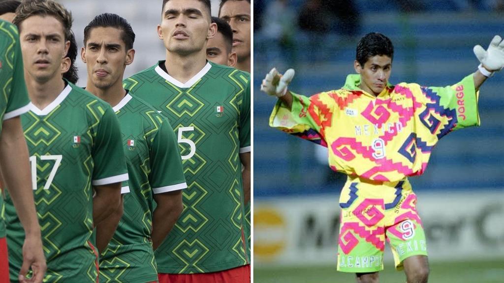 Tunden a Jorge Campos tras decir que no le gustó el uniforme del Tricolor en los Juegos Olímpicos