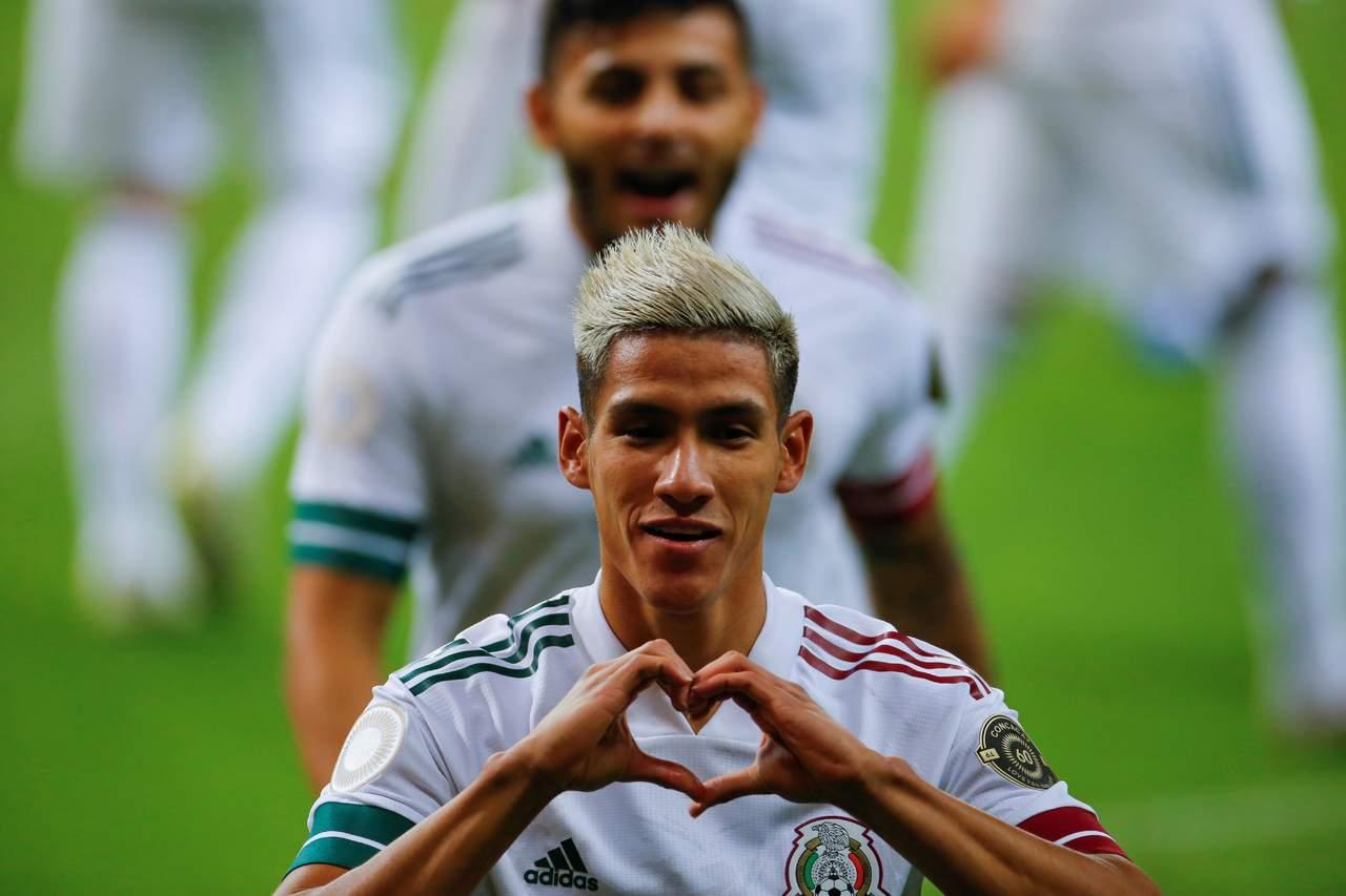 Duranguense anota gol en juego de México vs Francia en JO de Tokio