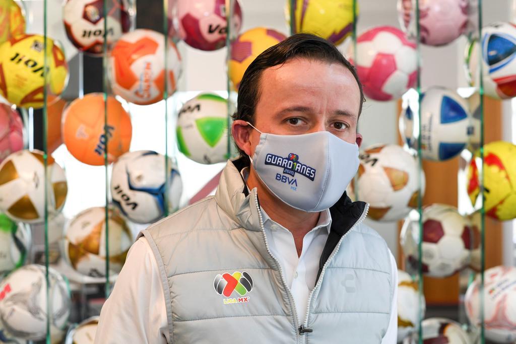 Mikel Arriola, presidente de la Liga MX, da positivo a COVID