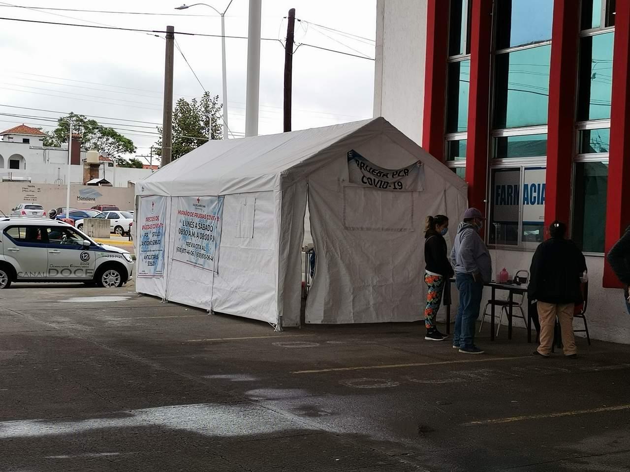 Sorprende presencia de niños en prueba Covid de la Cruz Roja Durango