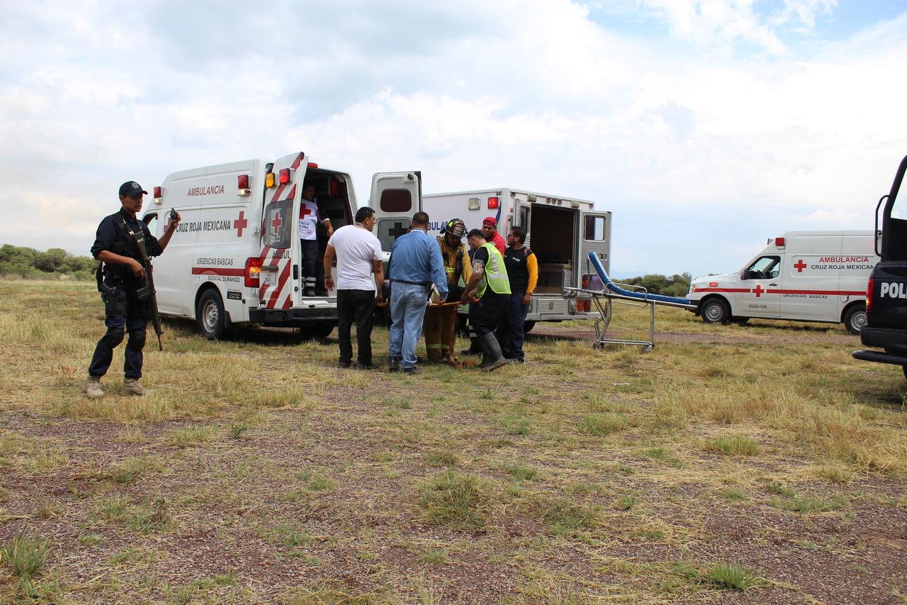 Lesionados tras choque en Poanas