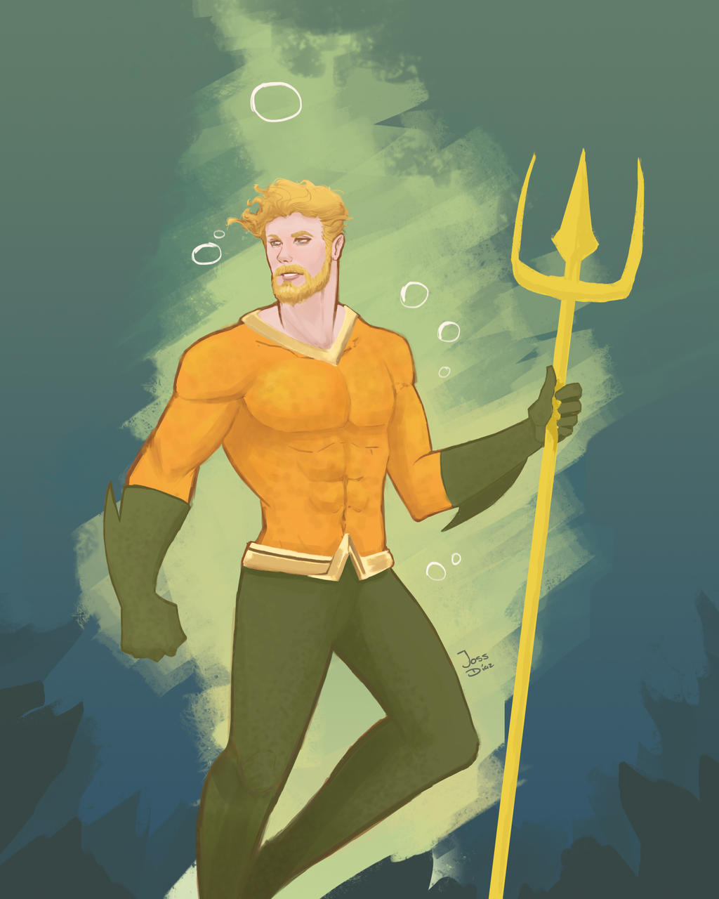 Aquaman has been the king of the sea for 80 years