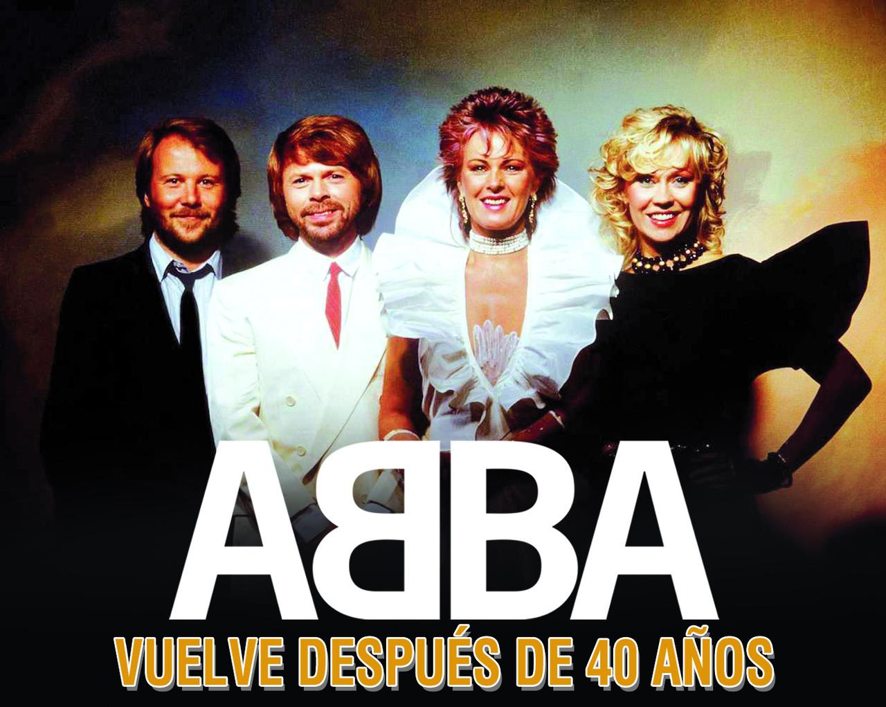 ABBA vuelve después de 40 años