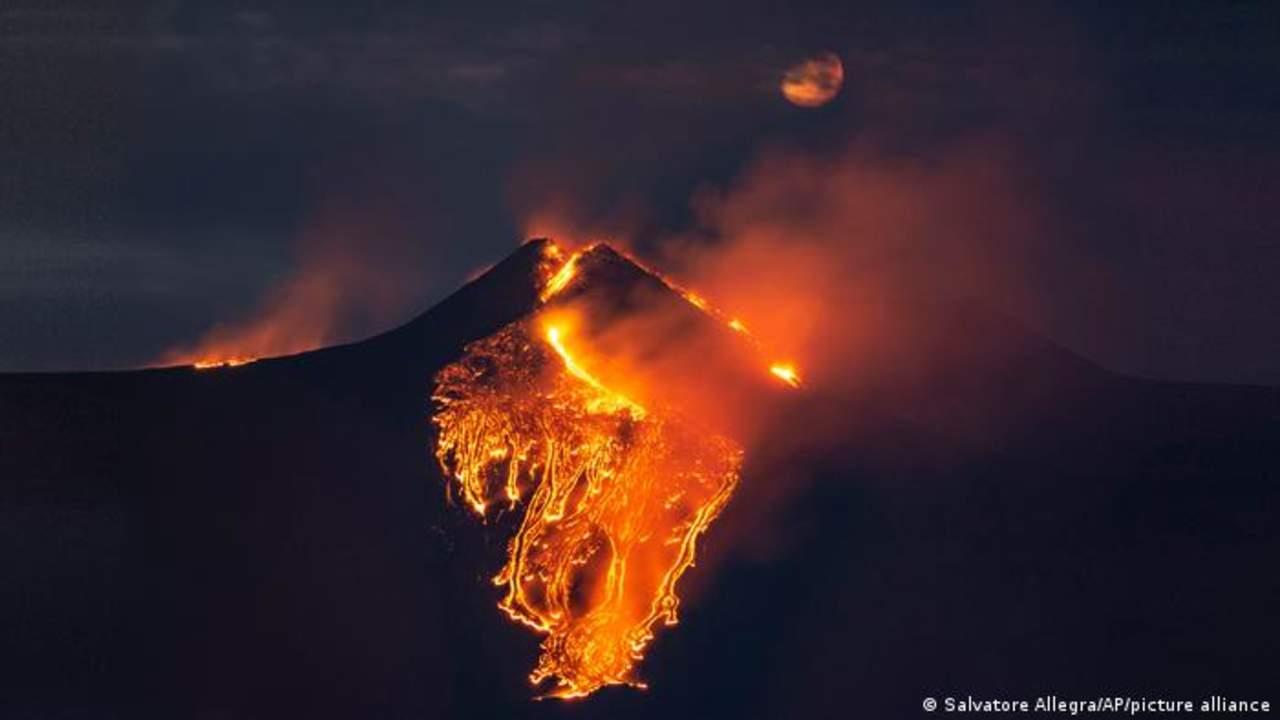 El volcán Etna pudo acumular presión meses antes de su erupción en 2018