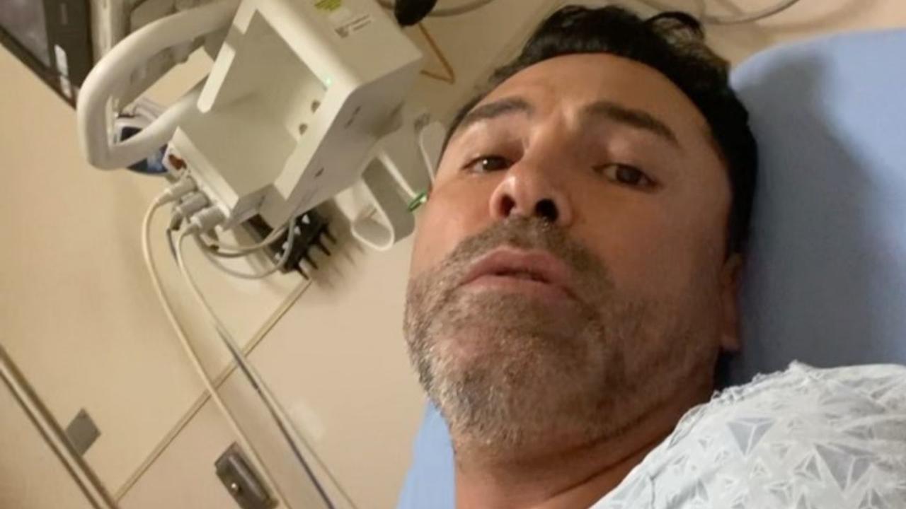 'Me siento mal'; Óscar de la Hoya revela que se encuentra hospitalizado por COVID-19