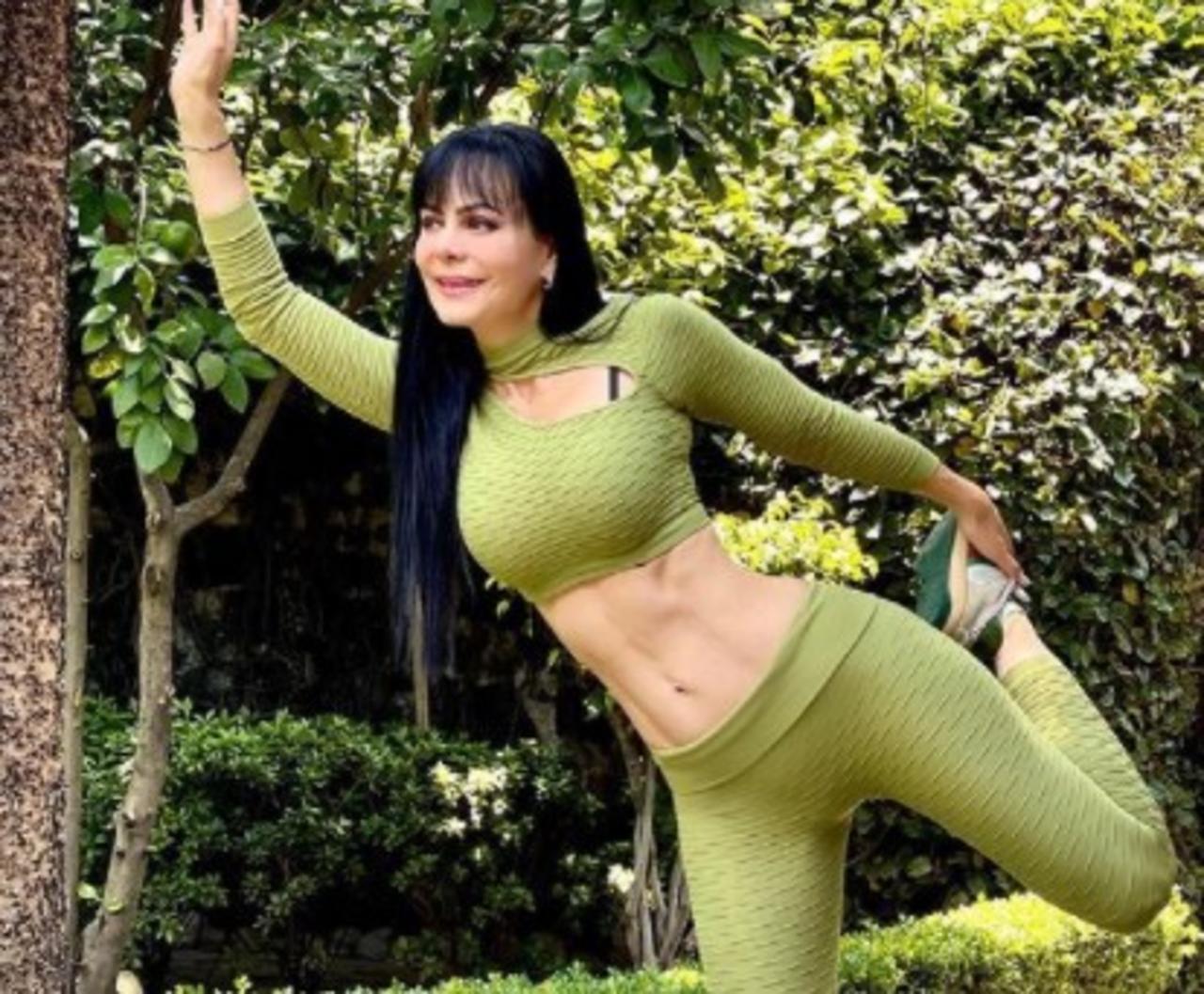Maribel Guardia presume íntimo tatuaje y pequeña cintura desde el gym
