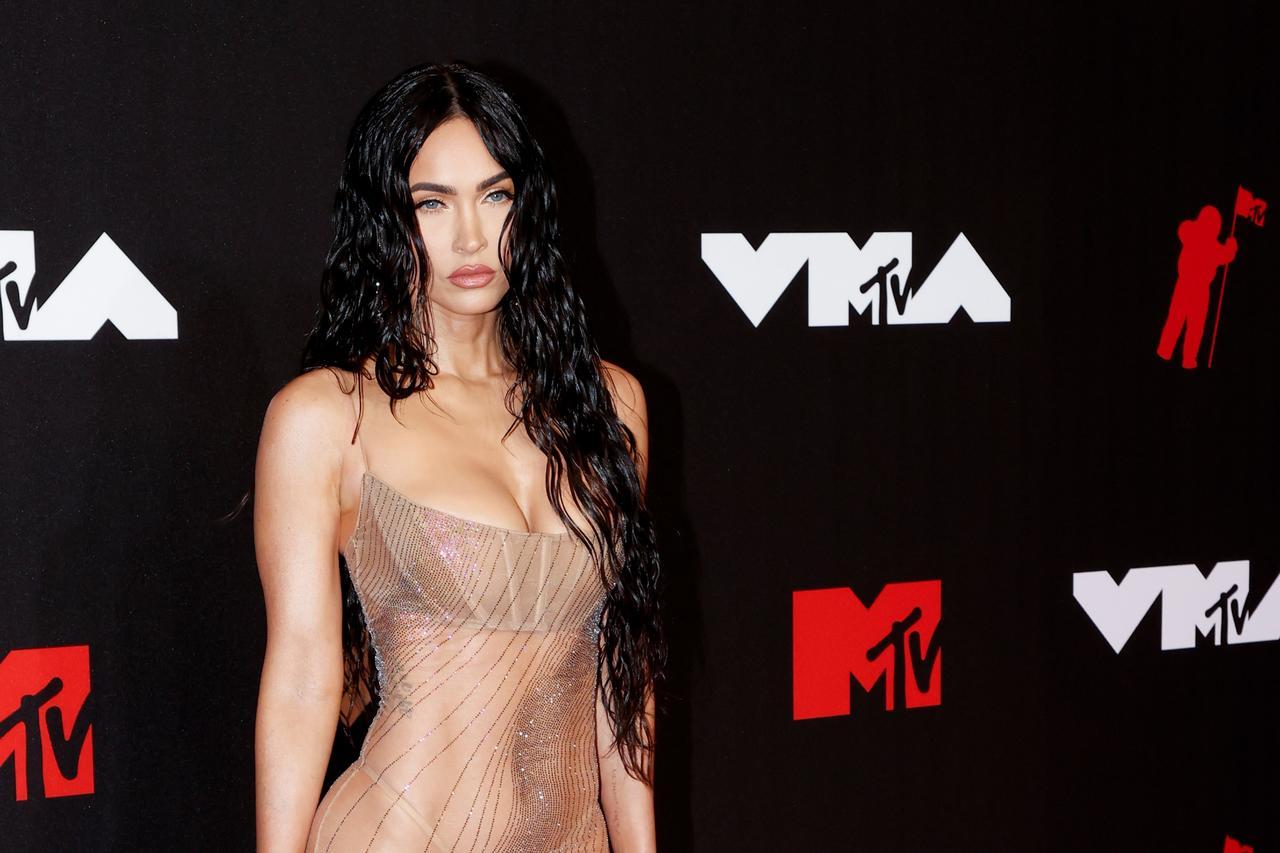 El 'naked dress' de Megan Fox que impactó en los VMA's