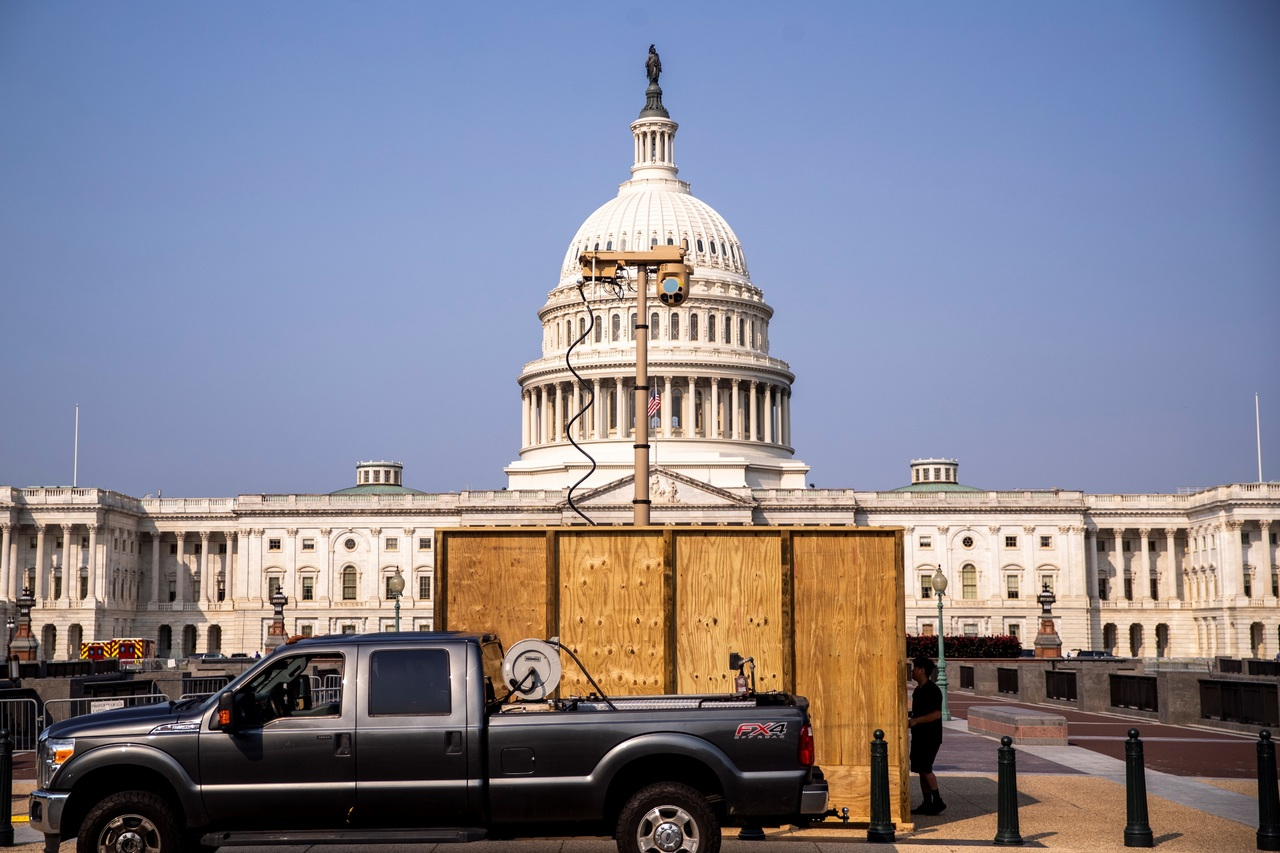 Capitolio refuerza seguridad ante marcha