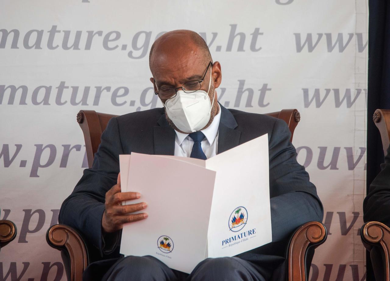 Exigen la renuncia de primer ministro de Haiti