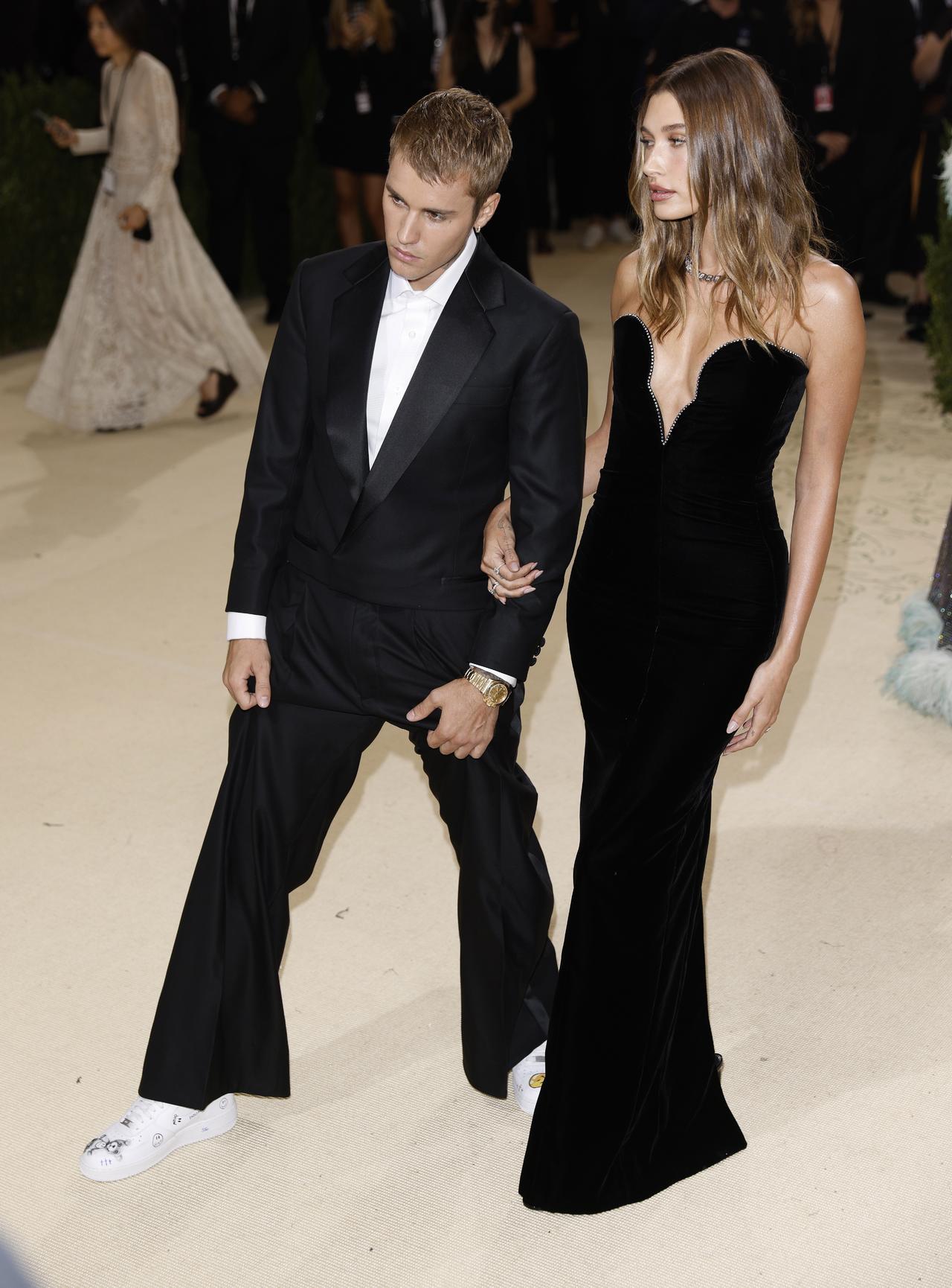 Gesto de Justin Bieber con Hailey en la Met Gala despierta rumores de embarazo