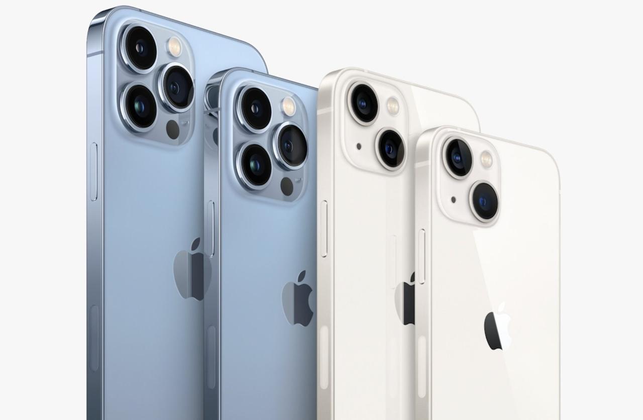 Estos serán los precios del iPhone 13 en México