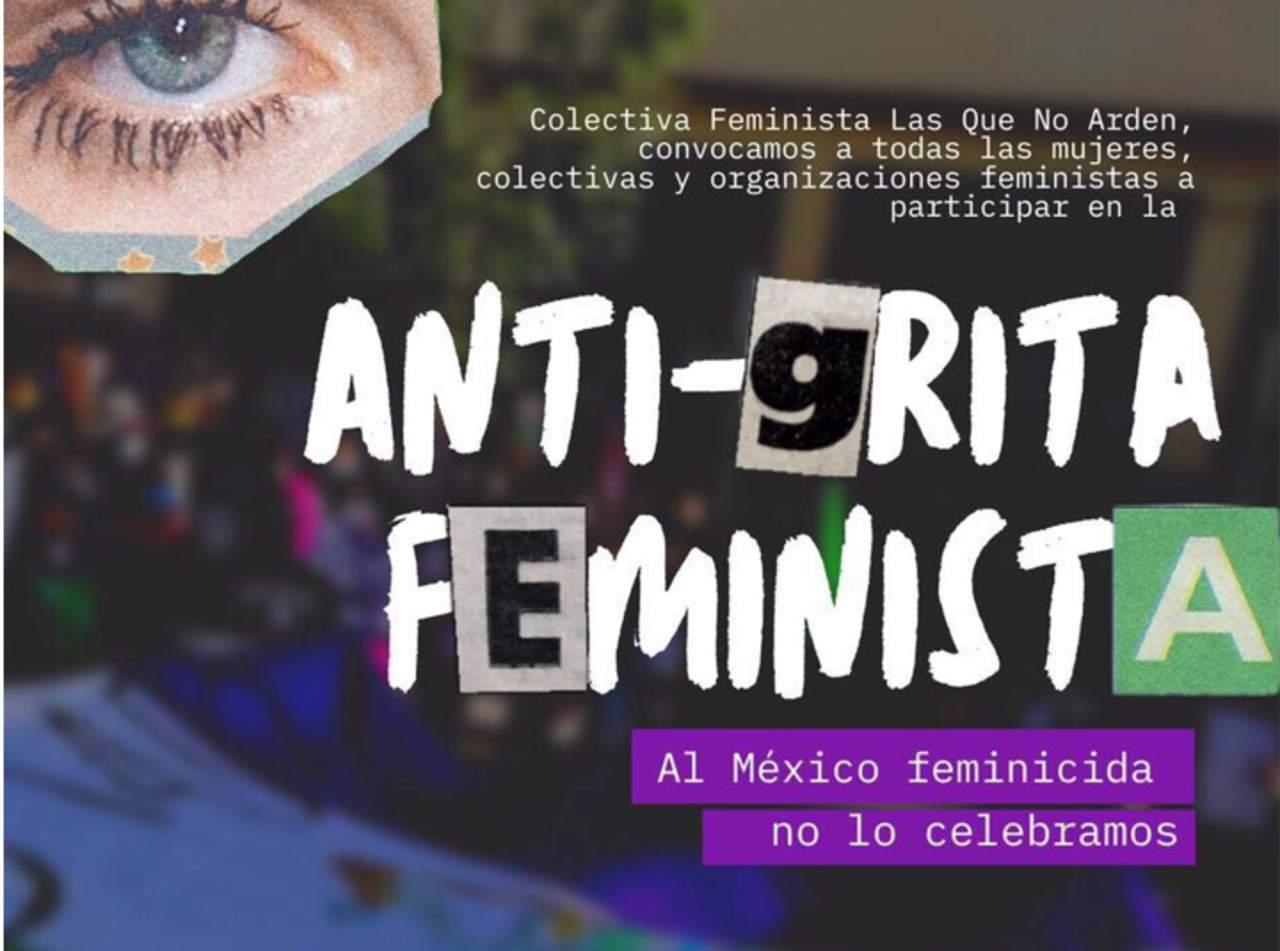 Convocan en Durango a la 'Anti-grita' feminista
