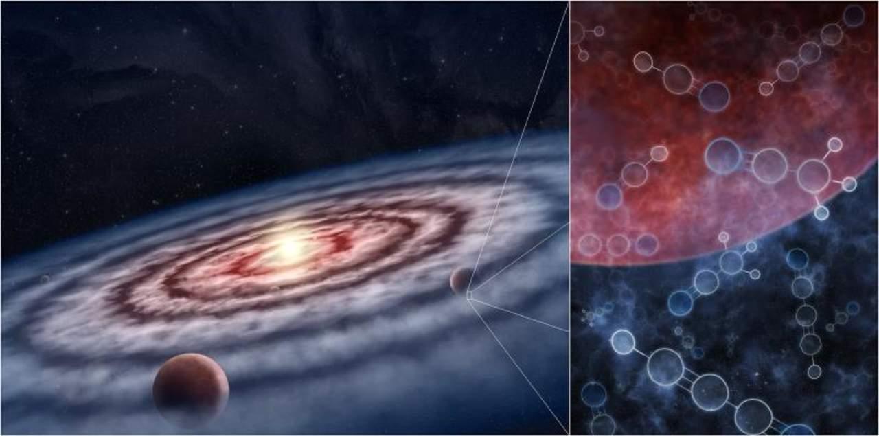 Los planetas se forman en unas 'sopas orgánicas' con múltiples recetas