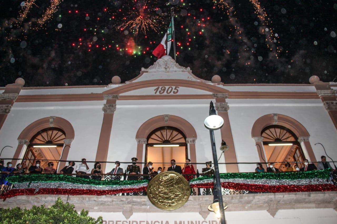 Festejo de Independencia en Lerdo fue semipresencial