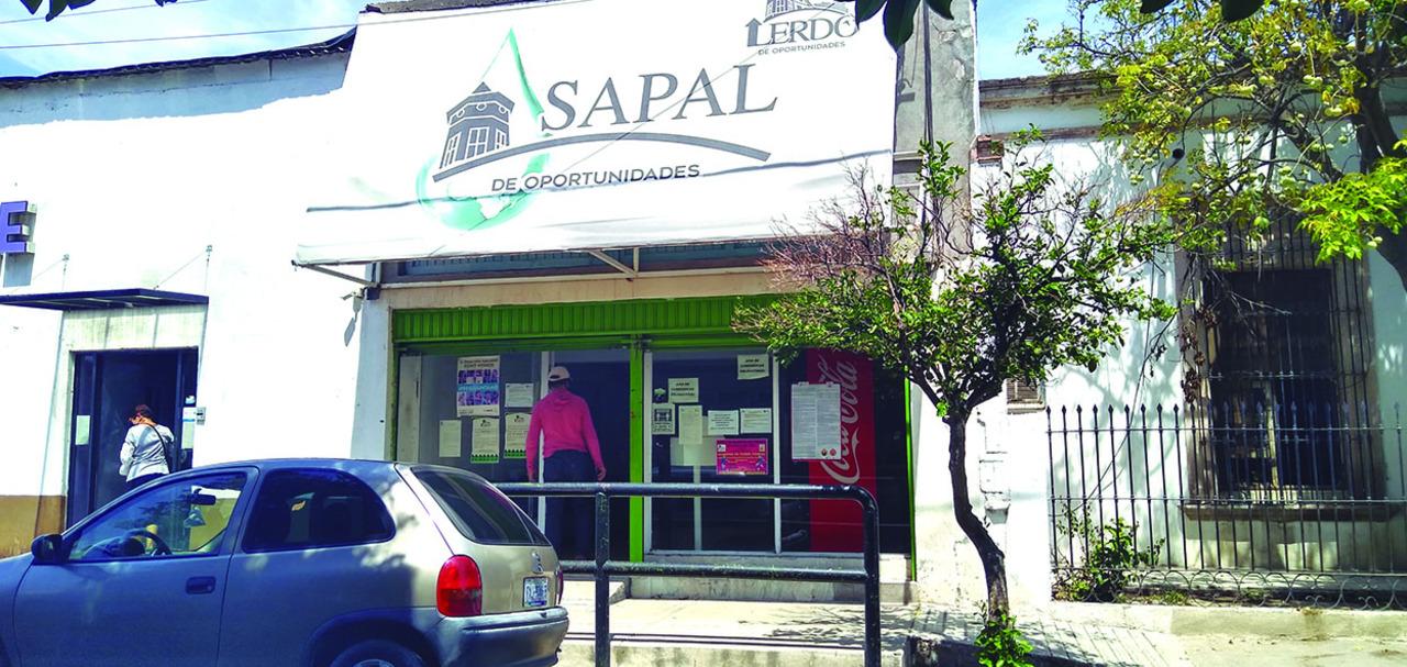 Morosos, más del 70% de usuarios del Sapal