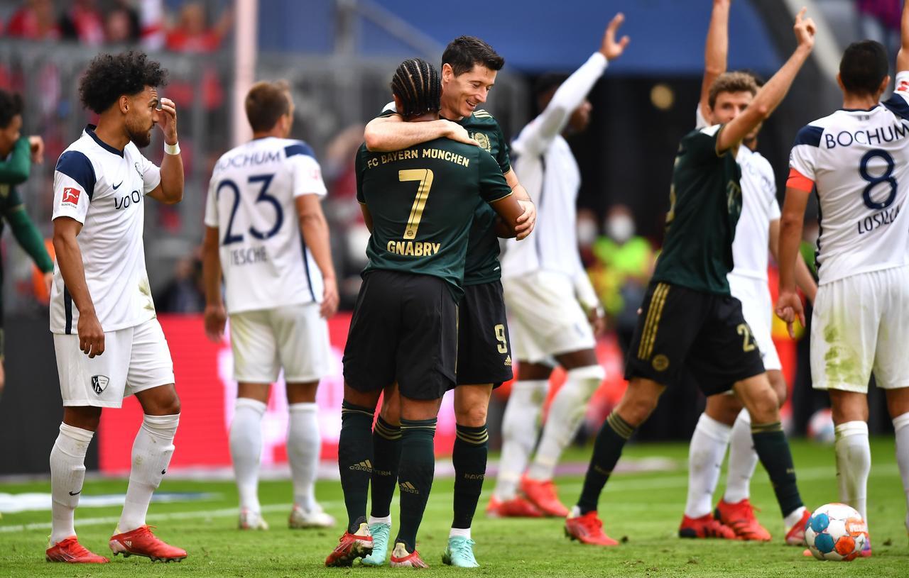 Bayern Múnich logra aplastante victoria ante Bochum en la Bundesliga