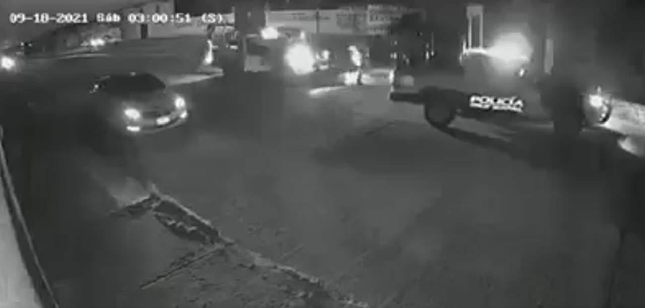 VIDEO: Así fue la detención del conductor que arrolló a joven al salir de antro