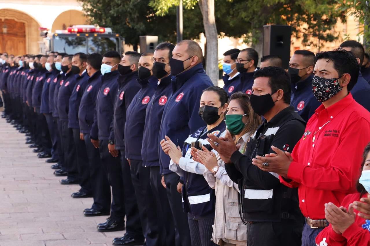 Conmemoran en Durango el Día Nacional de la Protección Civil