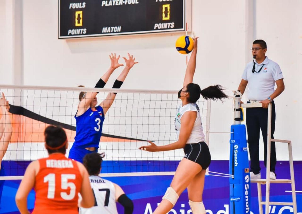 Concluyen partidos de preparación previo al mundial de voleibol femenil Sub-18 en Durango