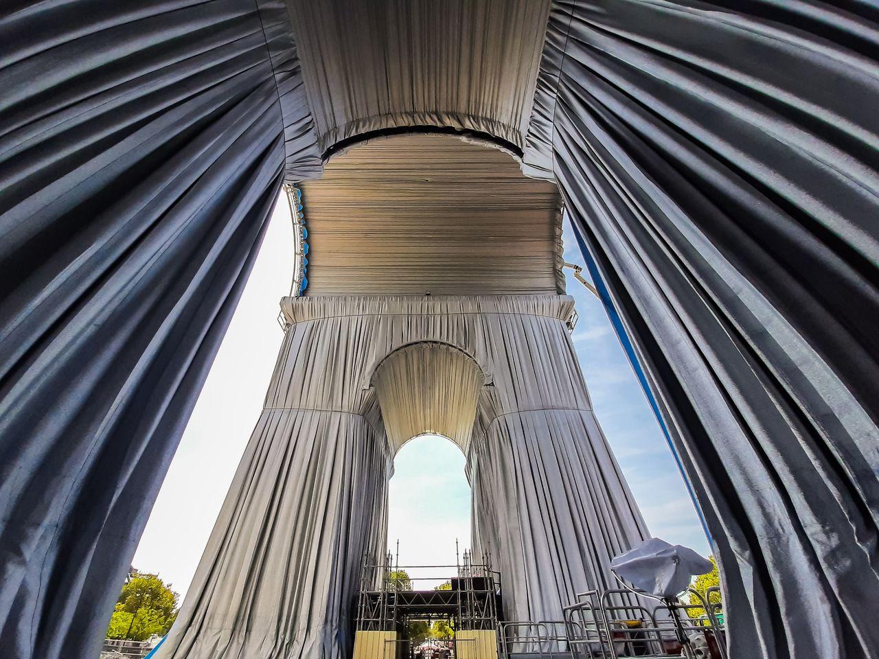 Habilitan aplicación para ver  el Arco del Triunfo de París