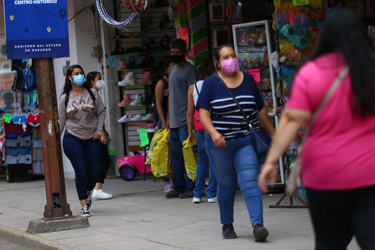 Durango inicia la semana con 10 contagios de Covid; no hubo decesos