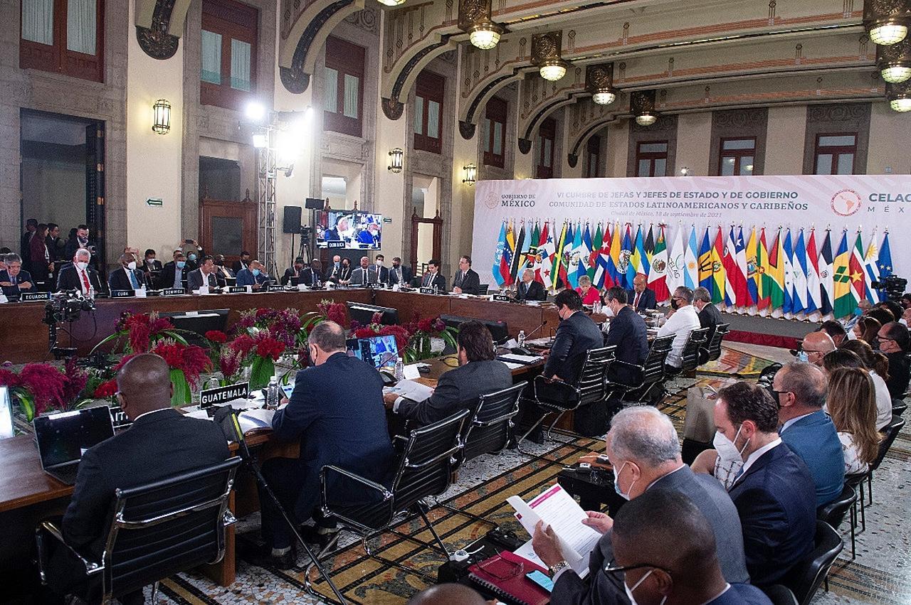 AMLO ve 'positiva' la cumbre de la Celac pese 'a las diferencias'