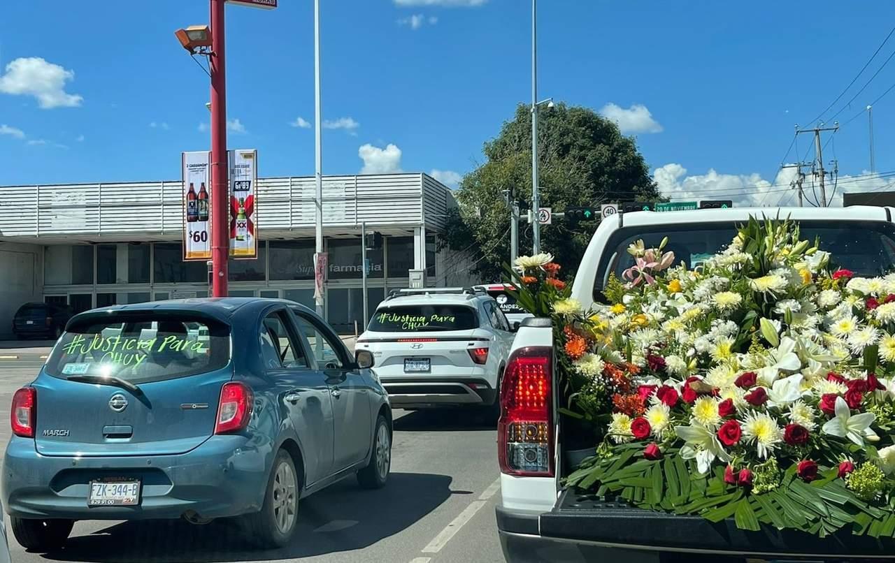 Piden #JusticiaParaChuy en su cortejo fúnebre