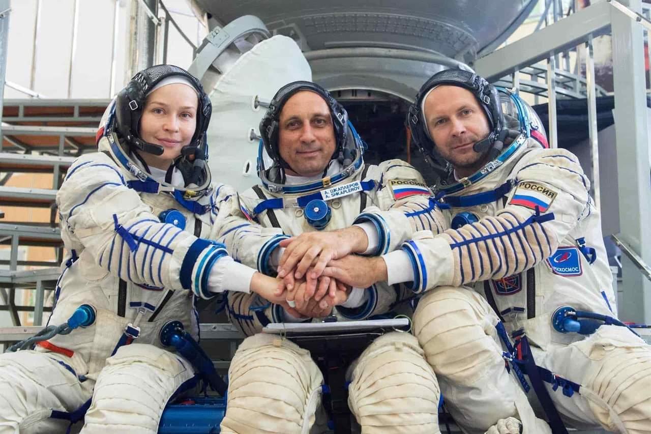 Arranca la cuenta atrás para la grabación de primera película en el espacio