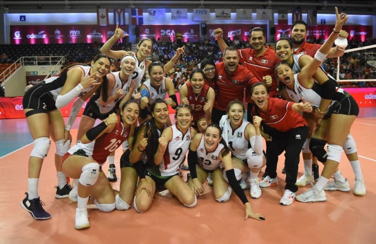 Selección femenil de voleibol de sala logra plata y clasifica a Juegos Panamericanos 2023