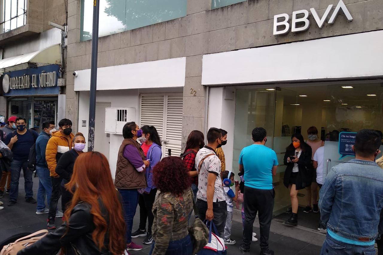 BBVA lleva  80 mil reclamaciones por fallas: CNBV