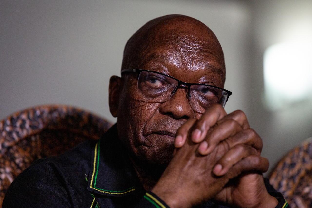 El juicio al expresidente sudafricano Jacob Zuma es pospuesto un mes