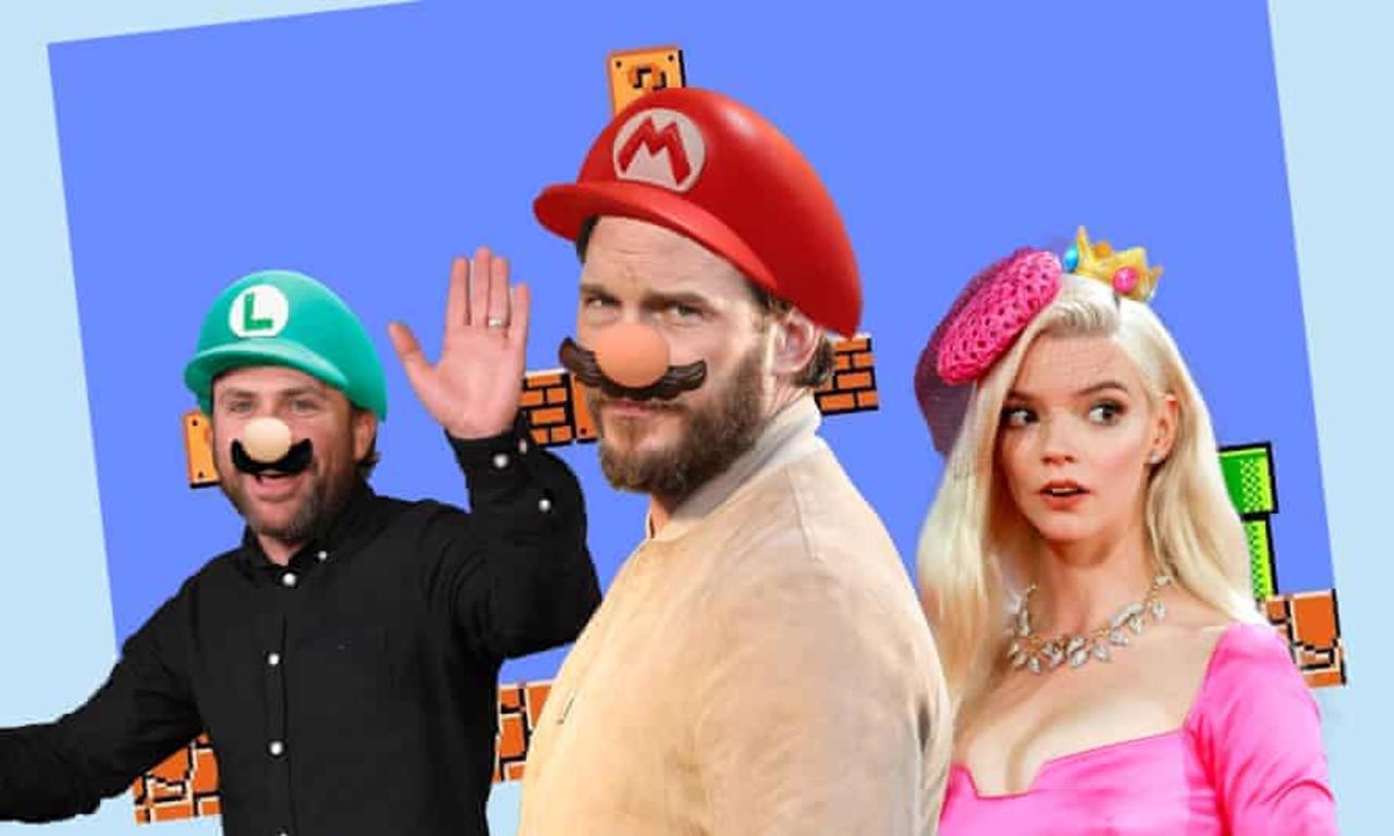 '¡Soy yo, Mario!'; Chris Pratt da sus primeras palabras como voz de Super Mario Bros