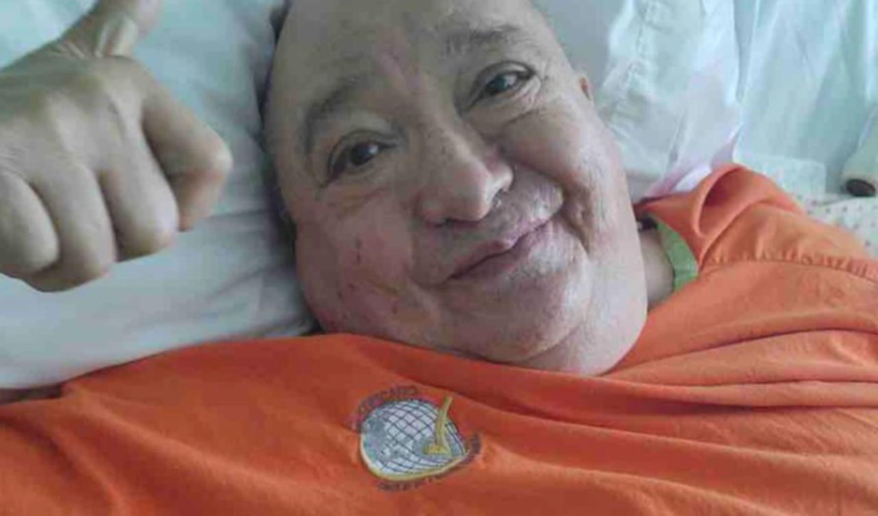Familia de Luis de Alba pide ayuda para pagar cuenta de hospital de 400 mil pesos