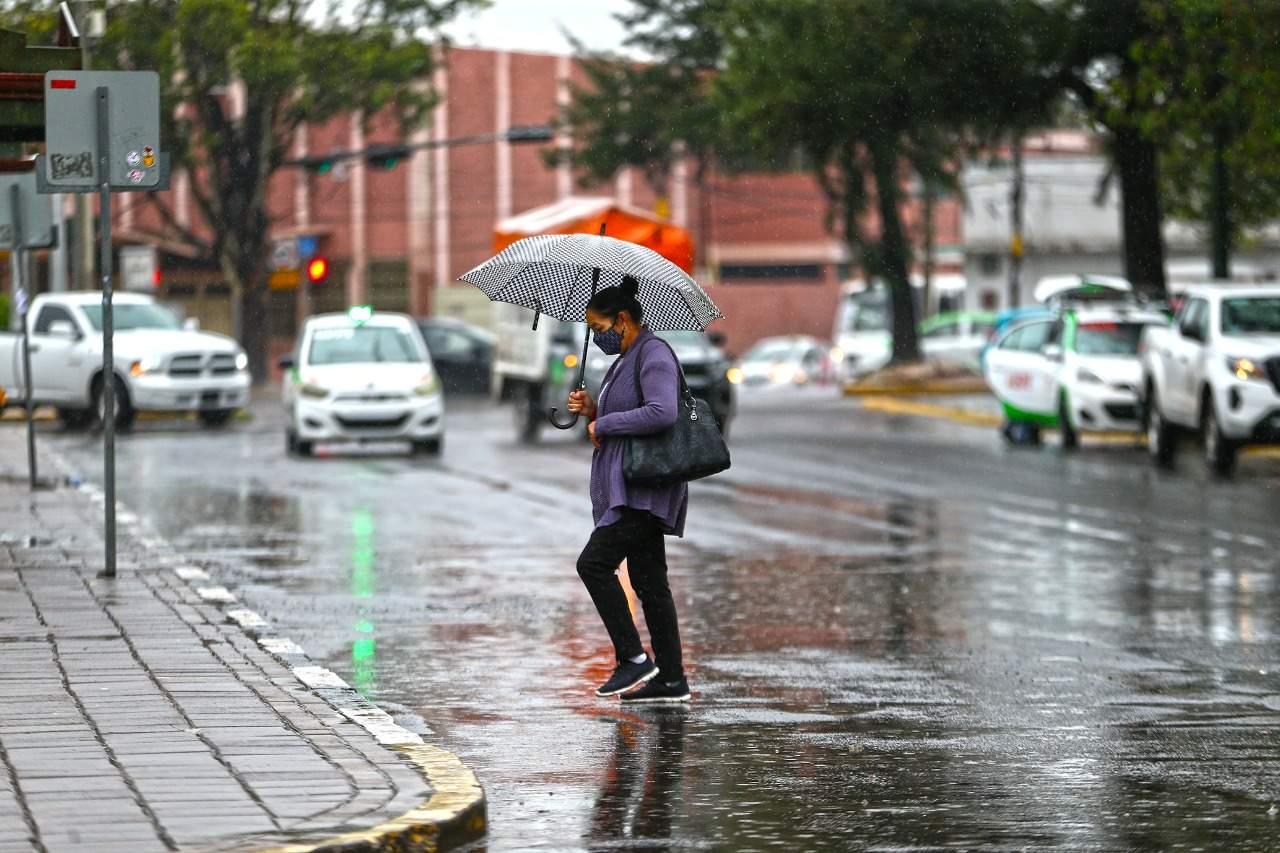 Menor, intensidad de lluvias esperada en Durango