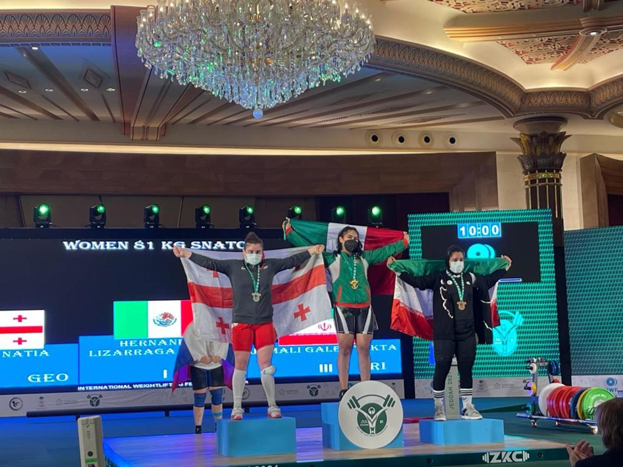 Con 12 medallas, México cierra participación en Mundial de Pesas Sub-17