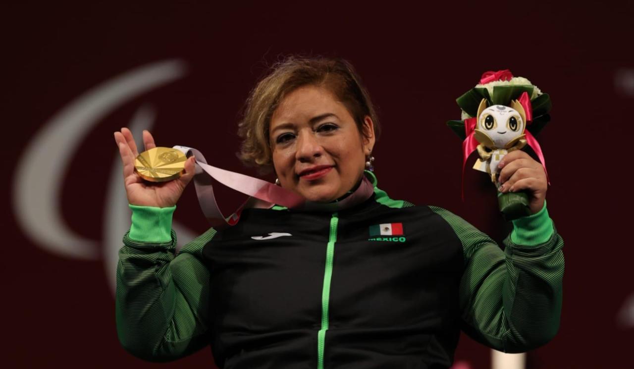 Amalia Pérez encabeza lista para Mundial de Para Powerlifting Batumi 2021