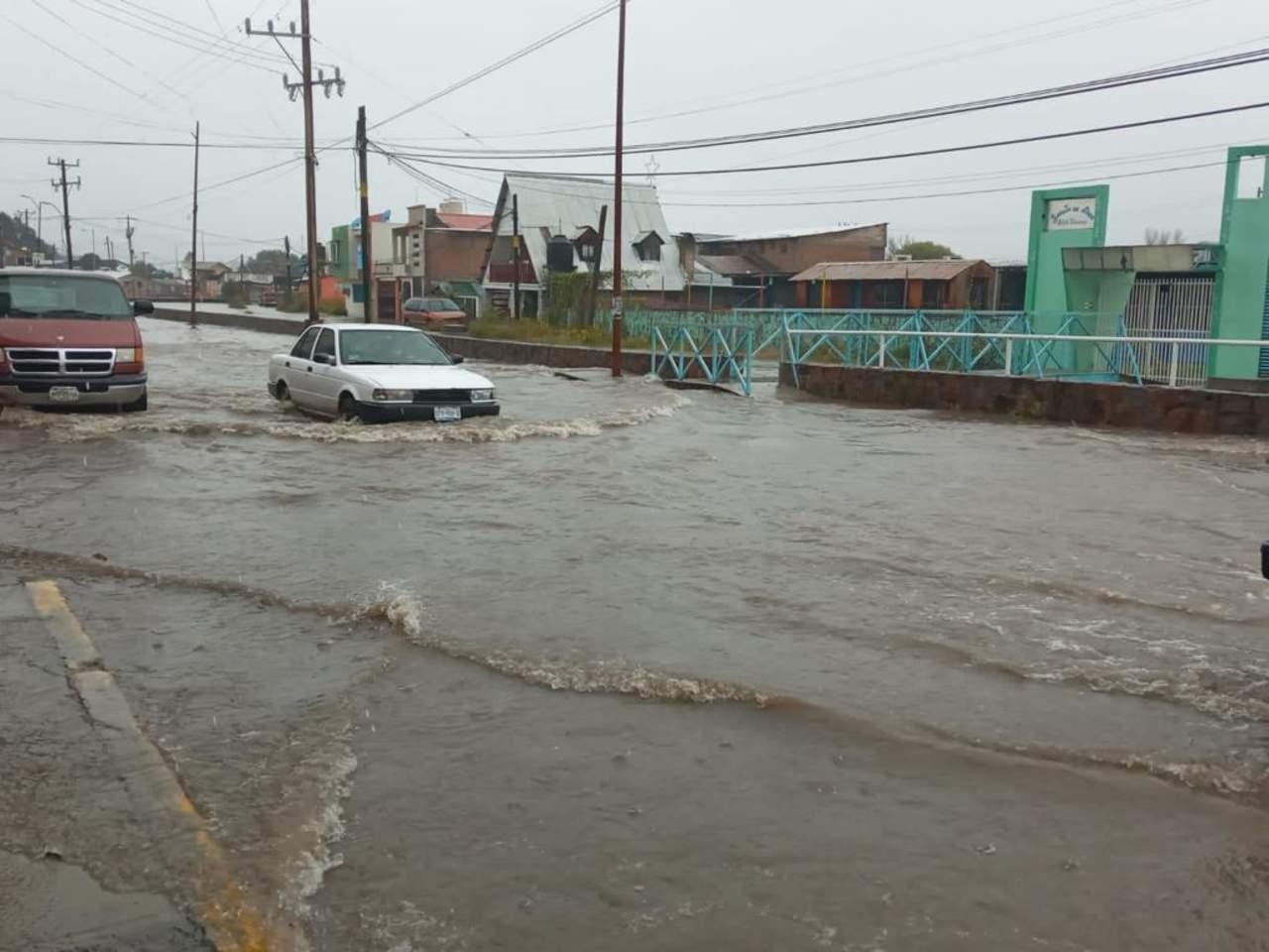 Se registraron lluvias en 34 municipios de Durango