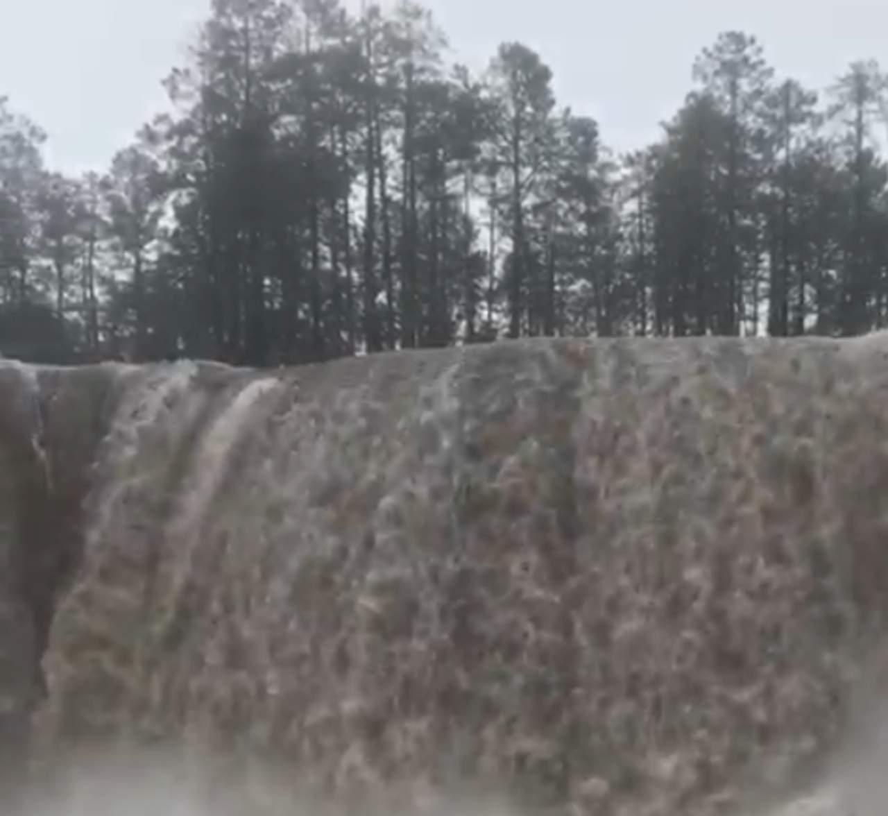 VIDEO: así lucen las cascadas en Mexiquillo tras el paso de 'Pamela'