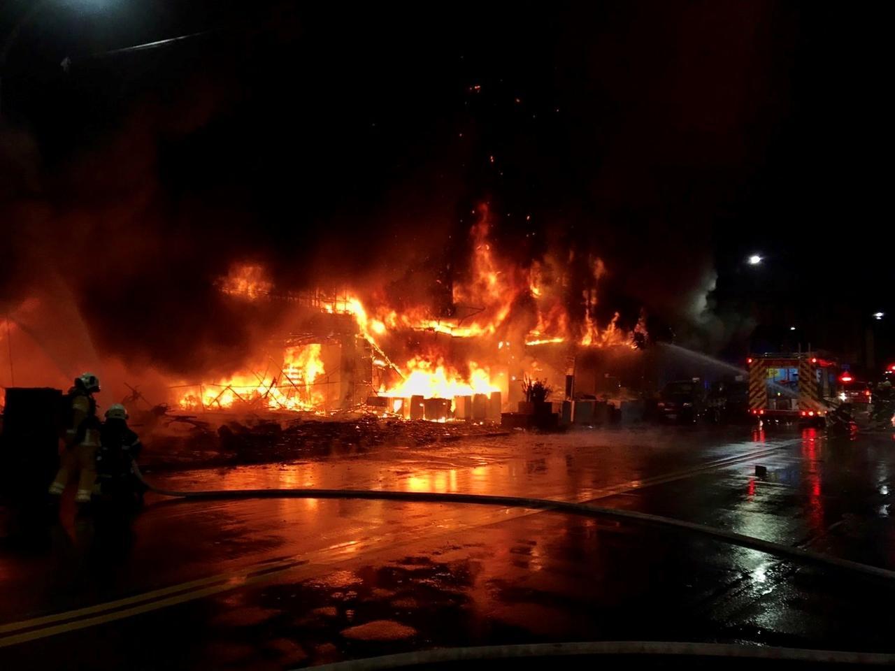 Incendio en Taiwán dejó 46 muertos y 41 heridos