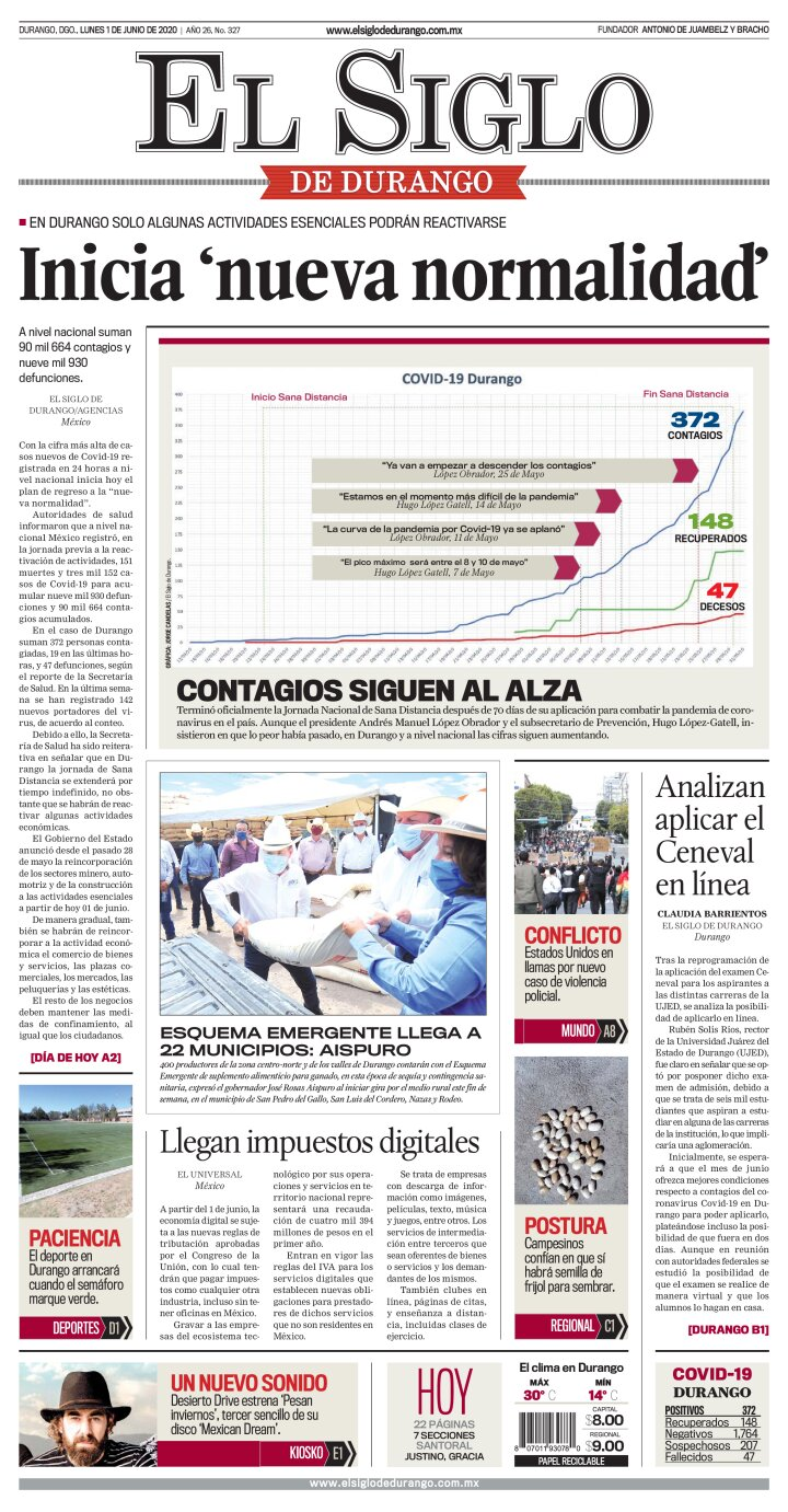 portada Durango